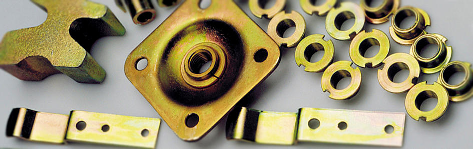 Zinc plating - Galmar Chrom